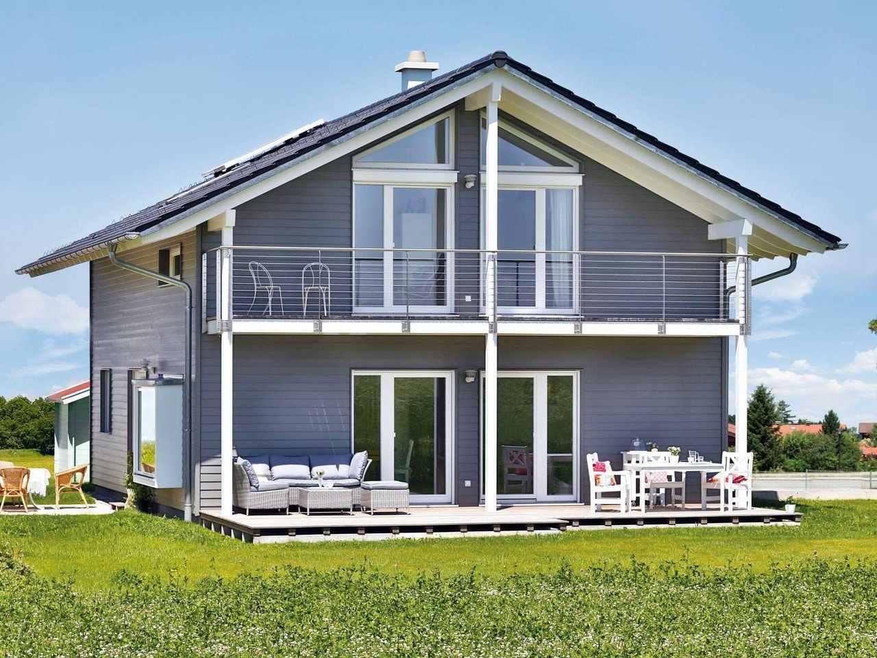 Einfamilienhaus Lautrach Terrasse 1