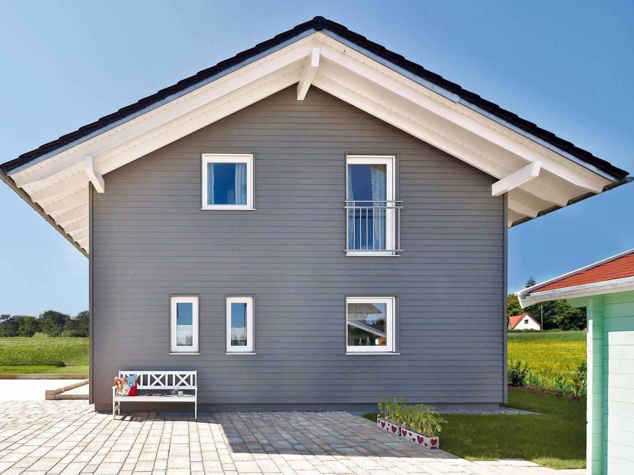 Einfamilienhaus Lautrach Außenansicht