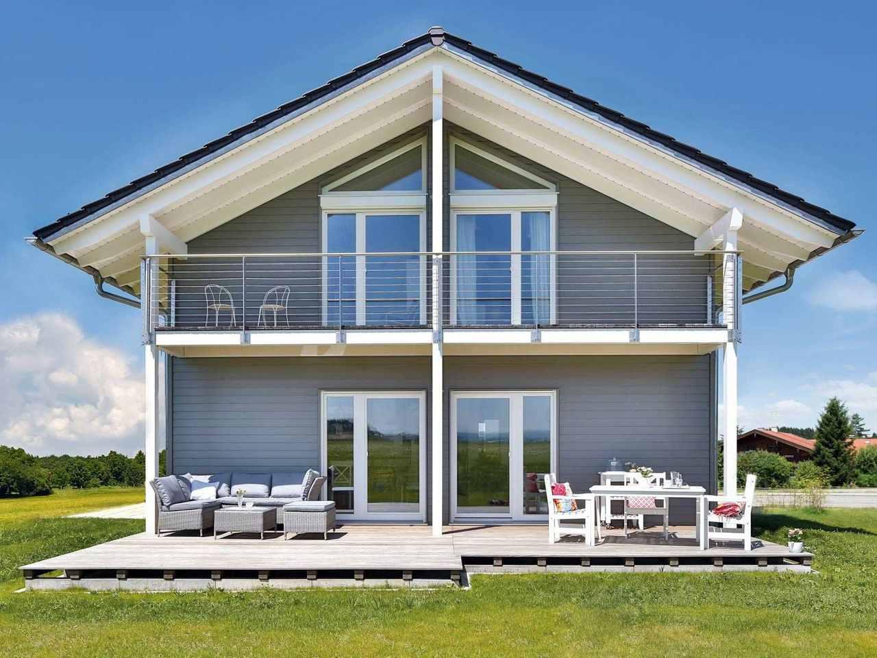 Einfamilienhaus Lautrach Terrasse 2