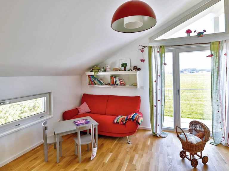Einfamilienhaus Lautrach - Regnauer Hausbau Kinderzimmer
