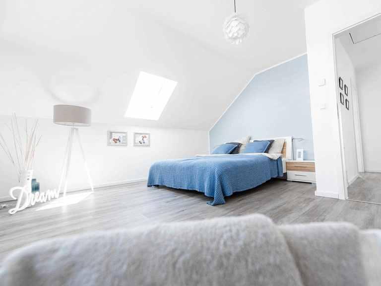Musterhaus ESPRIT 137 Siewert Hausbau Schlafzimmer