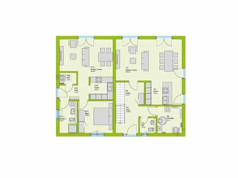 Mehrgenerationenhaus LifeStyle 34 Grundriss EG