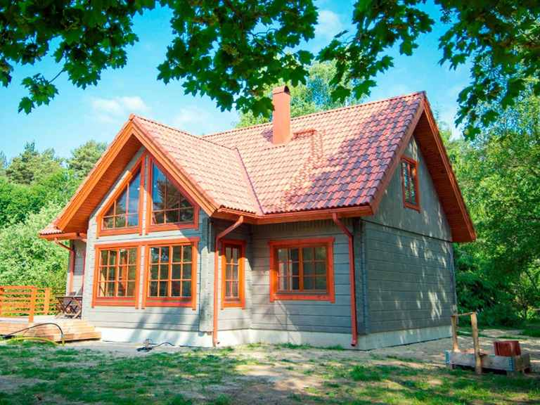 Holzhaus Aurora - Finnlog Deutschland Garten