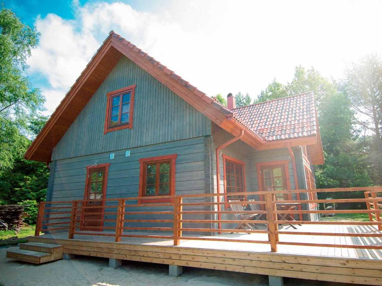 Holzhaus Aurora Hauptansicht
