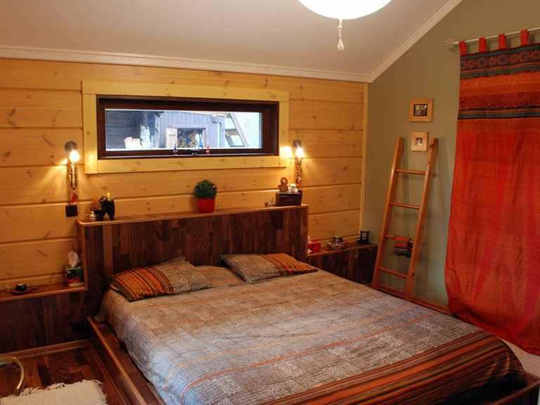 Holzhaus Hebe - Finnlog Deutschland Schlafzimmer