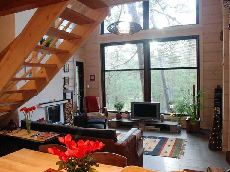 Holzhaus Hebe - Finnlog Deutschland Wohnzimmer