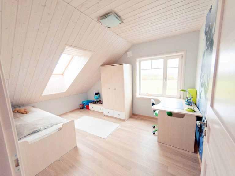 Holzhaus Leda - Finnlog Deutschland Kinderzimmer (Junge)