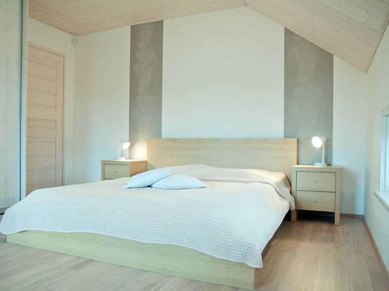 Holzhaus Leda - Finnlog Deutschland Schlafzimmer