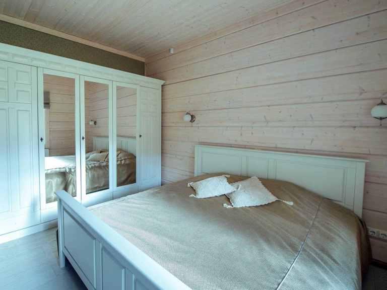 Holzhaus Magnolia - Finnlog Deutschland Schlafzimmer