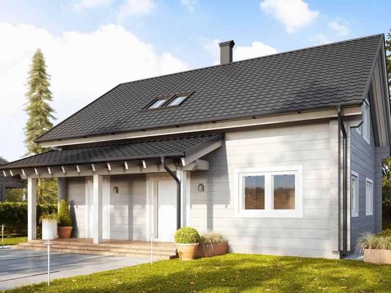 Holzhaus Woden Hauptansicht