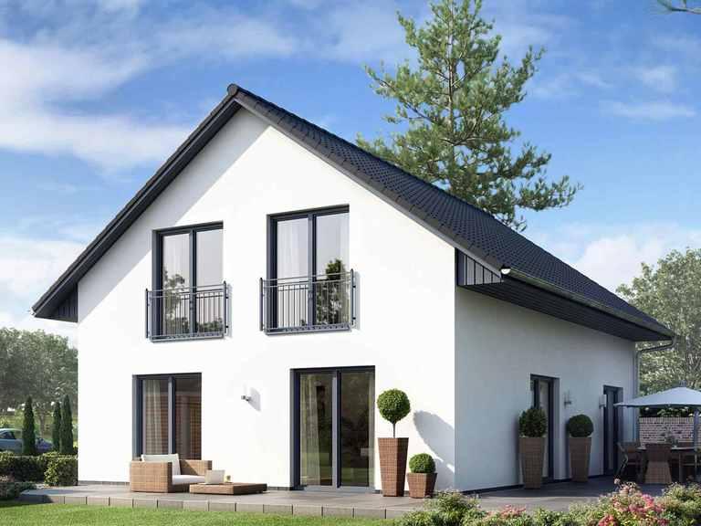 Einfamilienhaus Maxime 300 mit Putzfassade