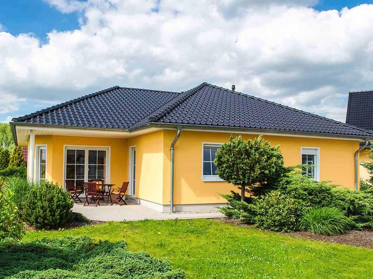 Winkelbungalow - Massivhaus Mathwig