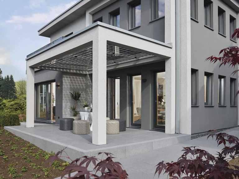 Musterhaus Fellbach - Terrasse