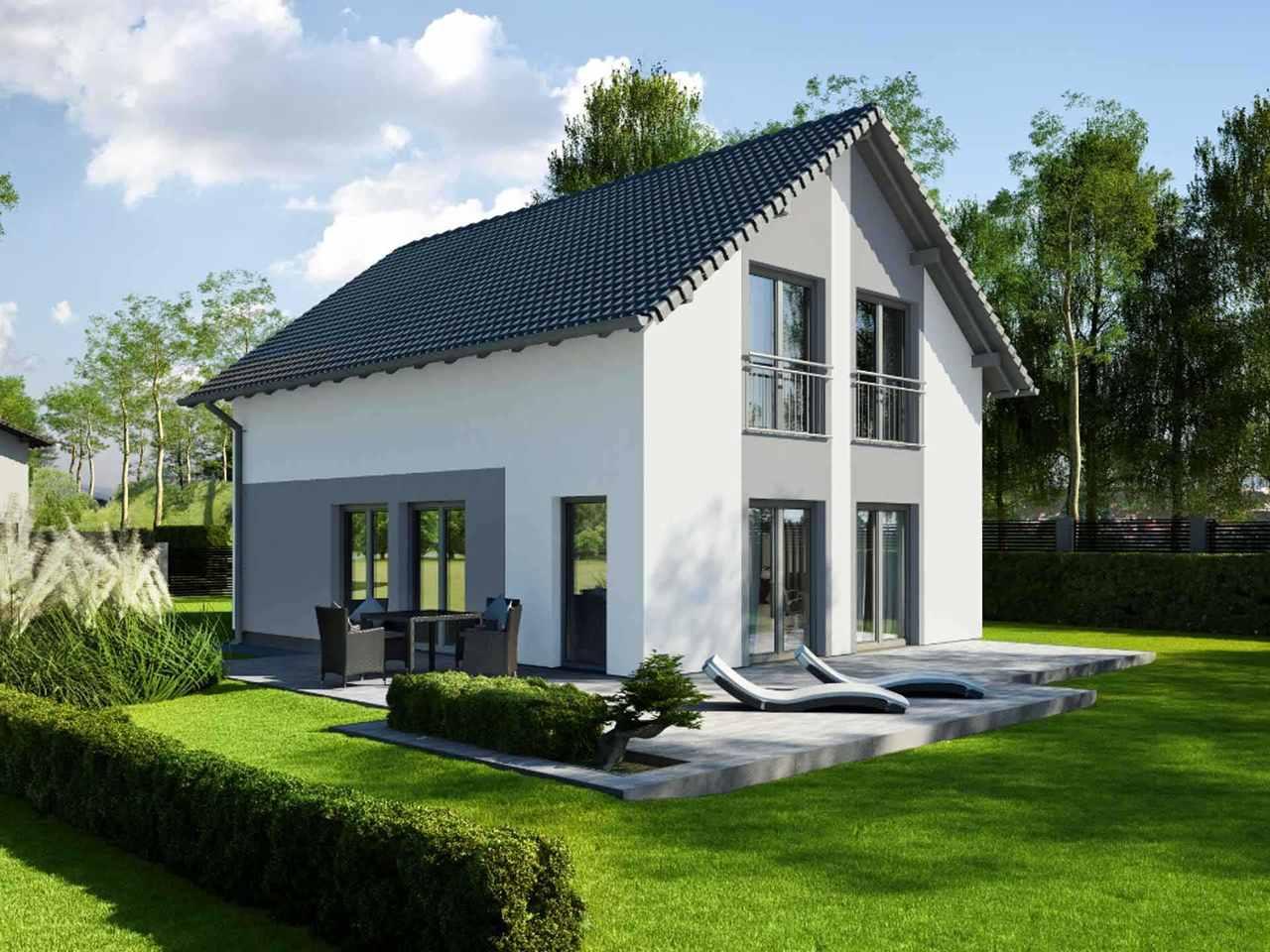 Einfamilienhaus Vielseitige 125 - ekodom Hausbau