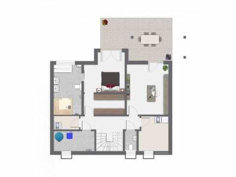 Einfamilienhaus Babelsberg - GUSSEK Haus Grundriss KG