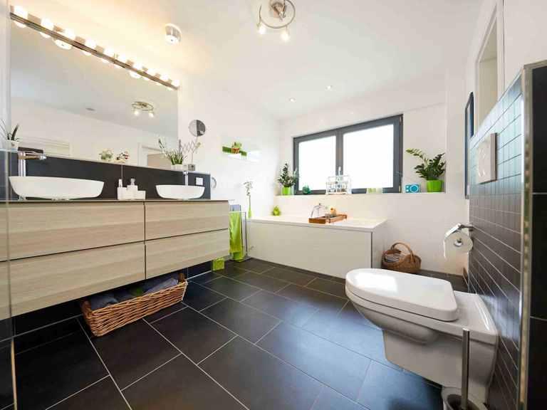 Einfamilienhaus Babelsberg - GUSSEK Haus Badezimmer