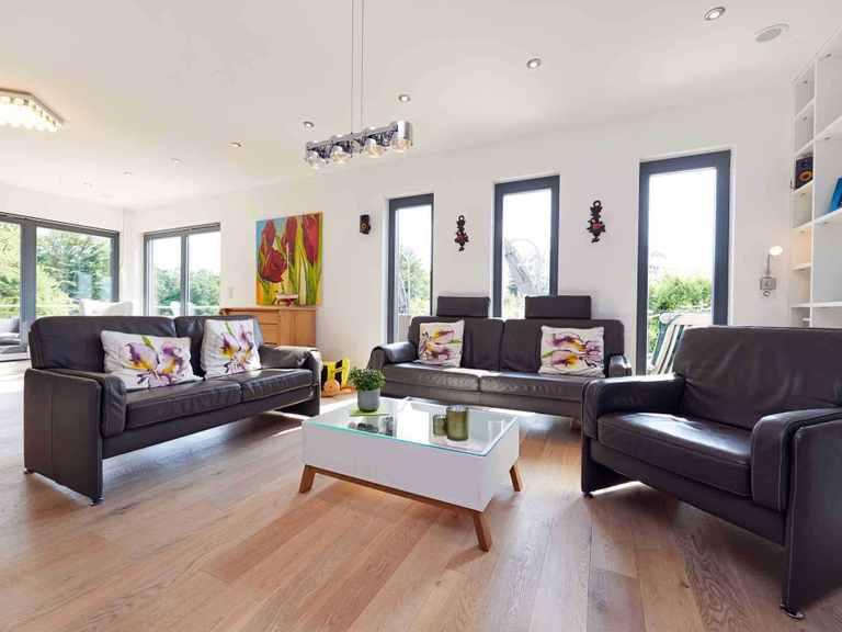 Einfamilienhaus Babelsberg - GUSSEK Haus Wohnzimmer