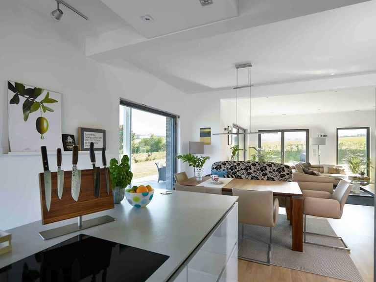Stadtvilla Baggio - GUSSEK HAUS Offene Küche
