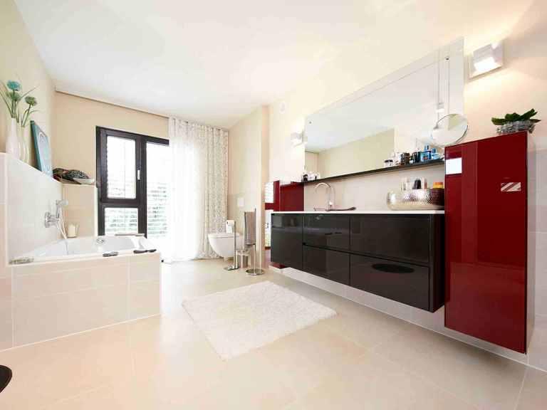 Kubus Haus San Marco - GUSSEK HAUS Badezimmer