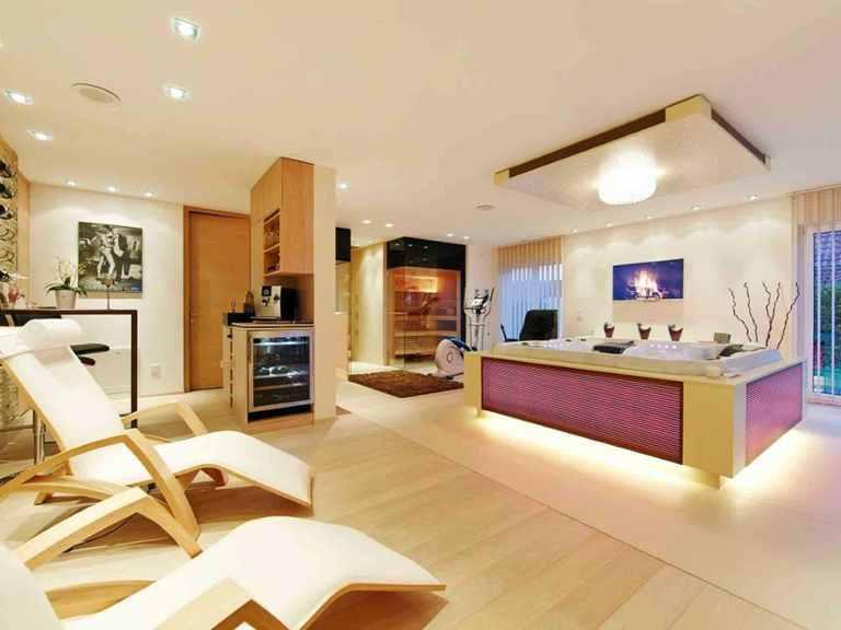 Villa Cannstatt - GUSSEK HAUS Badezimmer: Sauna