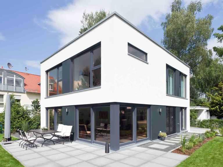Kubus Haus Grünwald - GUSSEK HAUS Terrasse