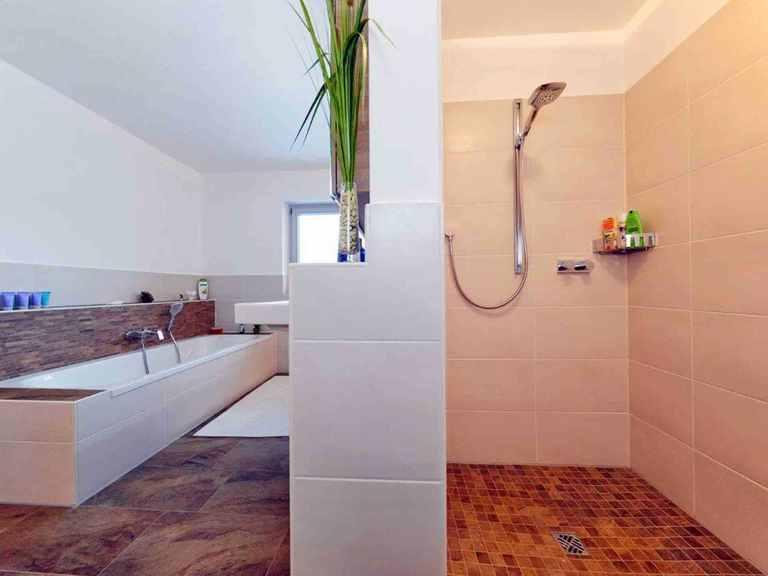 Einfamilienhaus Hainbuchenallee - GUSSEK HAUS Badezimmer