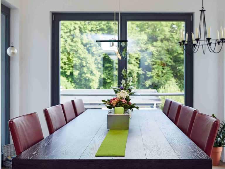 Einfamilienhaus Hainbuchenallee - GUSSEK HAUS Essbereich
