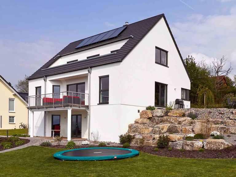 Einfamilienhaus Hellerberge - GUSSEK HAUS Garten