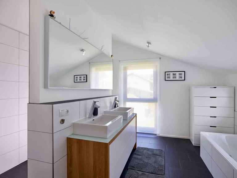 Einfamilienhaus Hoheneck - GUSSEK HAUS Badezimmer