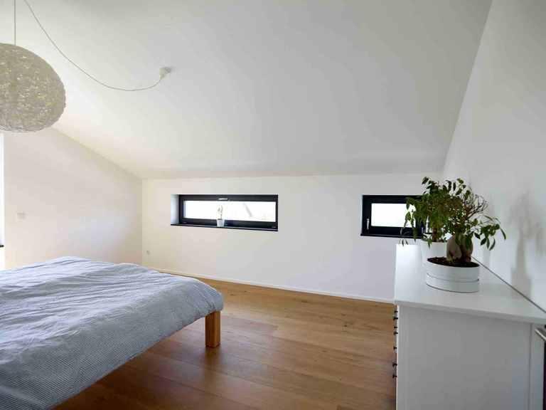 Einfamilienhaus Hoheneck - GUSSEK HAUS Schlafzimmer