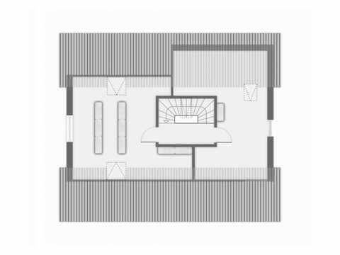 Einfamilienhaus Ponticelli - GUSSEK HAUS Grundriss DG
