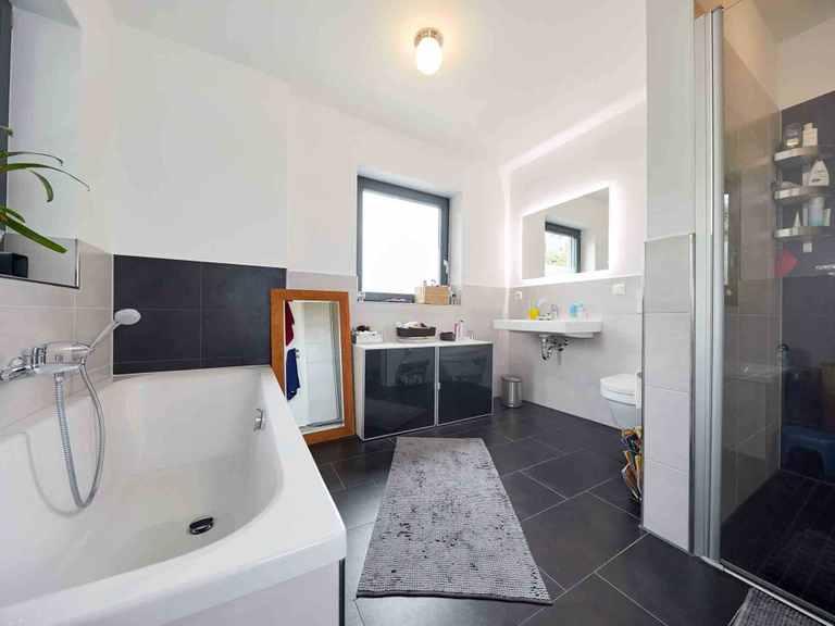 Einfamilienhaus Ponticelli - GUSSEK HAUS Badezimmer