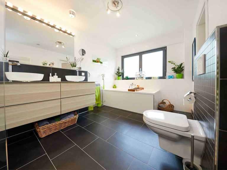 Kubus Haus Wynwood - GUSSEK HAUS Badezimmer