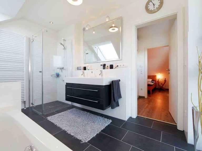 Einfamilienhaus Sanderau - GUSSEK HAUS Badezimmer