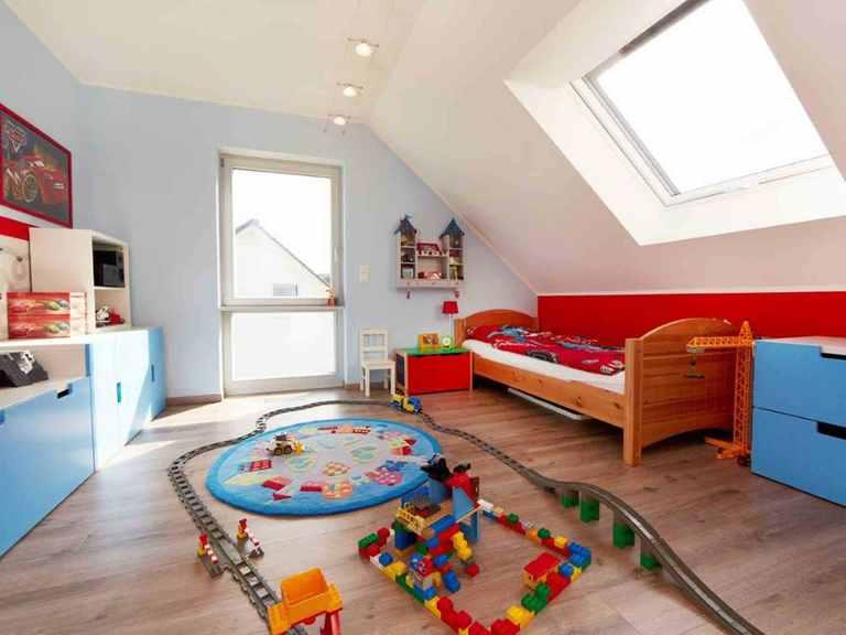 Einfamilienhaus Sanderau - GUSSEK HAUS Kinderzimmer