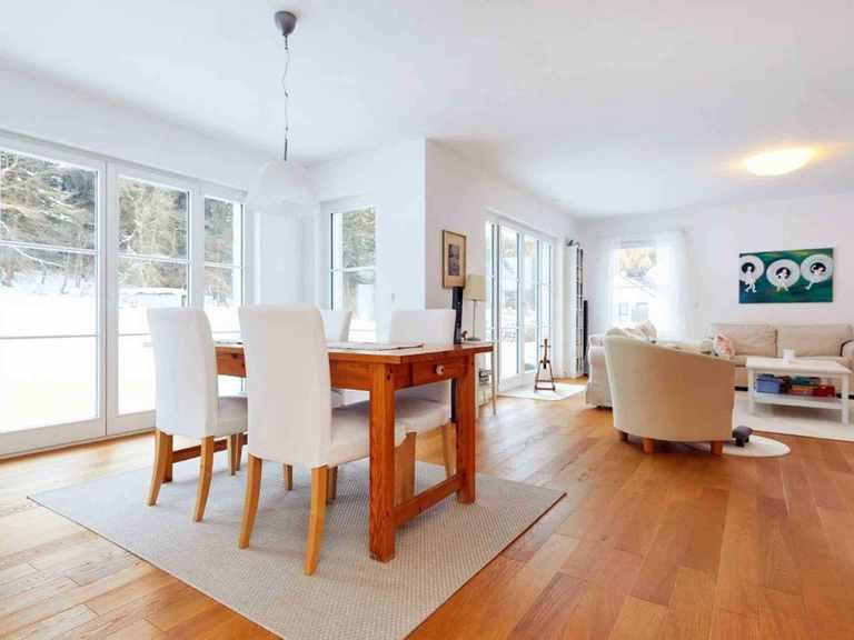 Einfamilienhaus Siebenbrunn - GUSSEK HAUS Wohn- und Essbereich