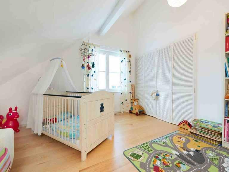 Einfamilienhaus Siebenbrunn - GUSSEK HAUS Kinderzimmer