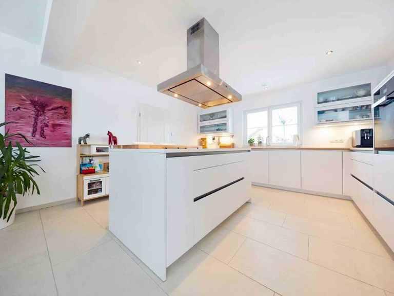 Einfamilienhaus Siebenbrunn - GUSSEK HAUS Offene Küche