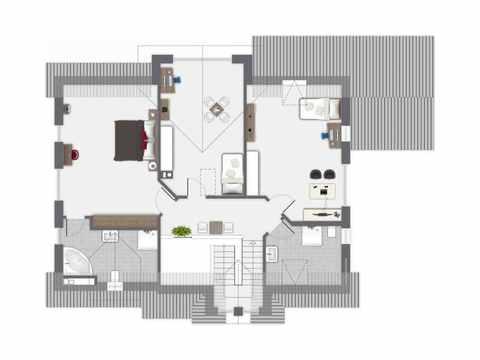 Einfamilienhaus Vahrenheide - GUSSEK HAUS Grundriss DG