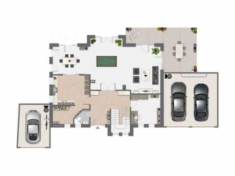 Einfamilienhaus Vahrenheide - GUSSEK HAUS Grundriss EG