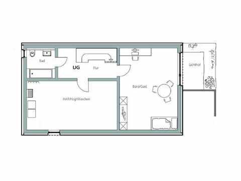 Kubus Haus Unikat 091 - TALBAU-Haus Grundriss KG