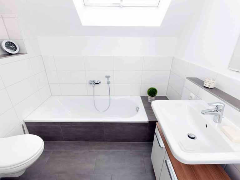 Einfamilienhaus Unikat 122 - TALBAU-Haus Badezimmer