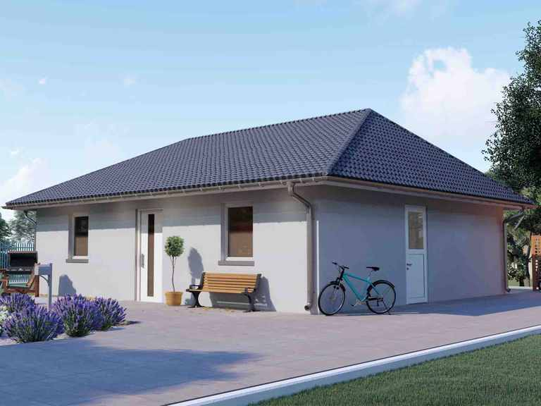 Bungalow mit 100m² - VODIES Massivhaus