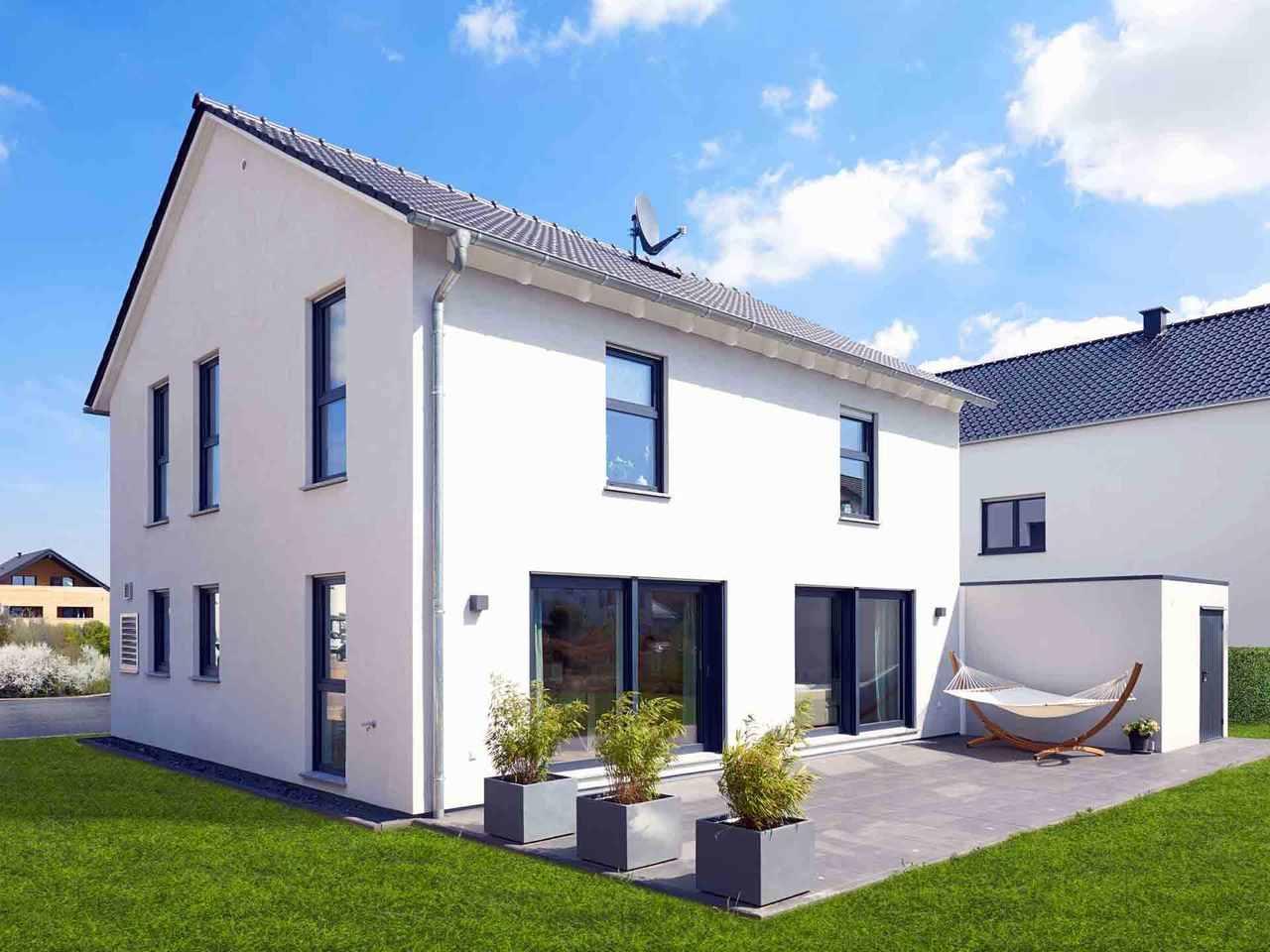 Einfamilienhaus Juna - Fingerhut Haus Terrasse