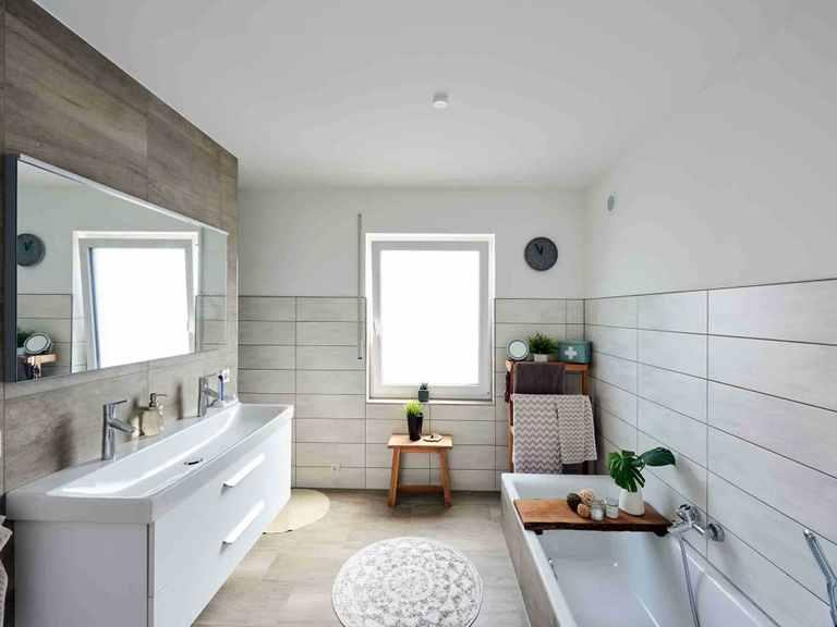 Einfamilienhaus Juna - Fingerhut Haus Badezimmer