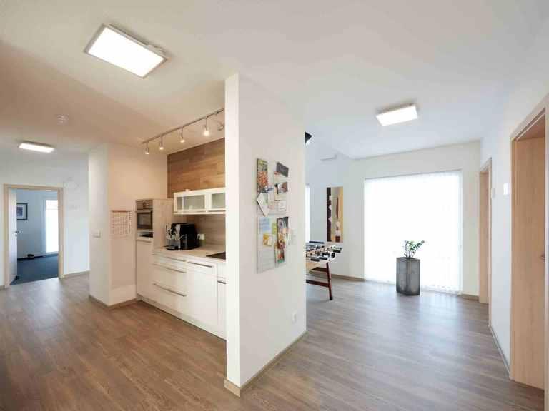 Pultdachhaus Tasko - Fingerhut Haus Kleine Küche und Spielecke