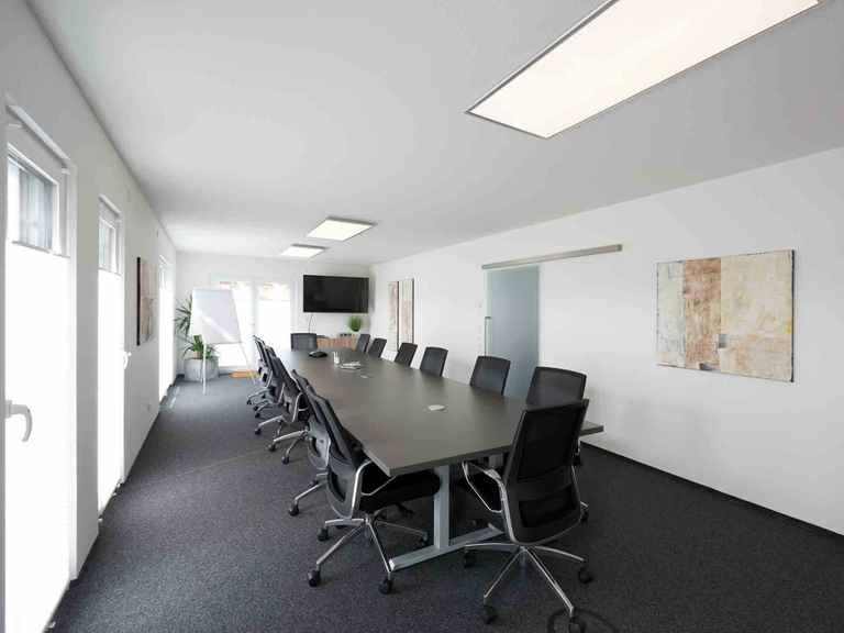 Pultdachhaus Tasko - Fingerhut Haus Konferenzraum