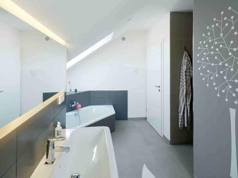 Einfamilienhaus Solaris - Fingerhut Haus Badezimmer