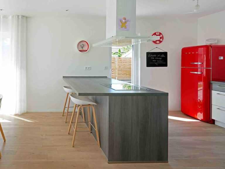 Einfamilienhaus Solaris - Fingerhut Haus Offene Küche