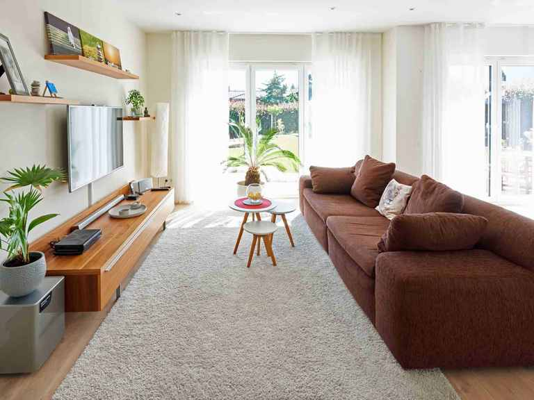 Einfamilienhaus Solaris - Fingerhut Haus Wohnzimmer